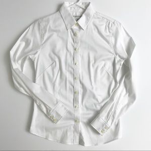 Banana Republic Fitted No Iron Stretch Top 8P